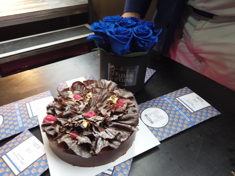 Millésime Chocolat cake