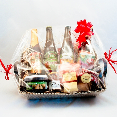 Picture of Basket large mix with beer