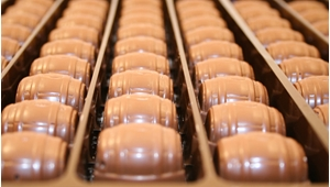 Blueberry Beer Chocolates