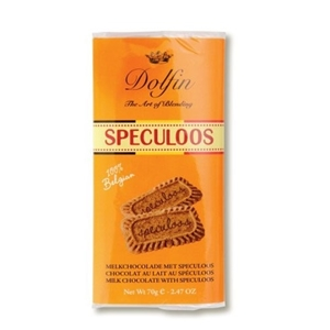 Dolphin chocolate spiced biscuit