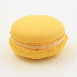 Passionfruit Mango macaron from jean-pierre