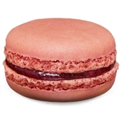 Picture of Raspberry macaron from jean-pierre