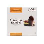 Picture of Antwerp hands chocolate 12 pralines