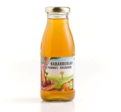 Picture of Organic apple - rhubarb juice