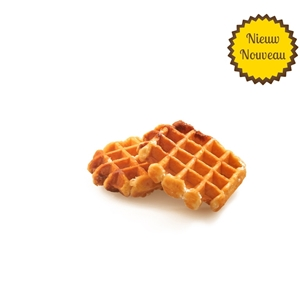 Artisanal sugar waffles 48 pieces
