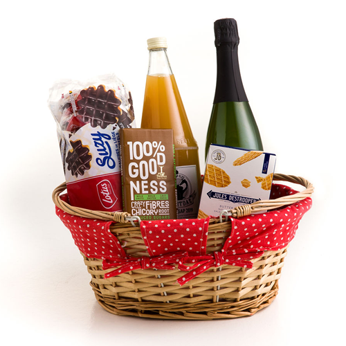 Picture of Picnic basket with local products