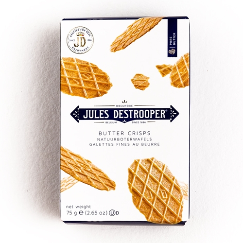 Picture of Jules de Strooper Natural butter waffles