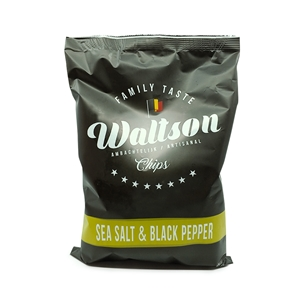 Picture of Chips Black pepper & seasalt Waltson