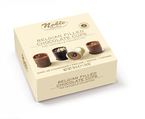 Picture of Noble Cantabile Belgian Filled Chocolate Cups